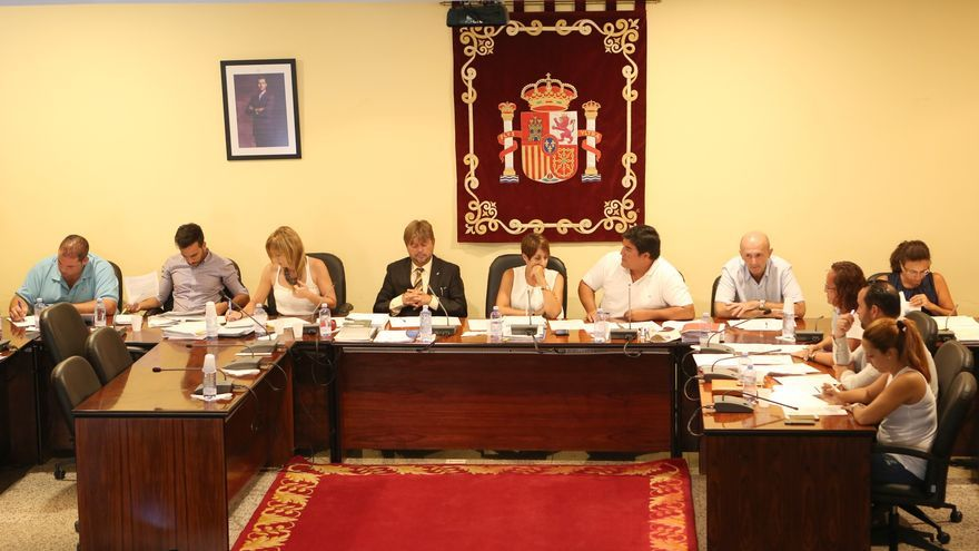 Pleno del Ayuntamiento de Mogán.