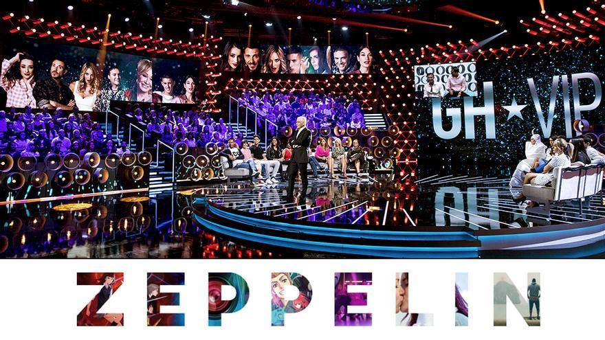 Plató de 'GH VIP', buque insignia de Zeppelin TV