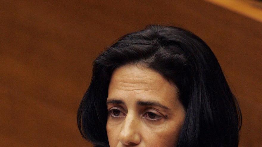 Angélica Such, procesada en el caso Gürtel, presenta su renuncia al acta de diputada en las Cortes Valencianas