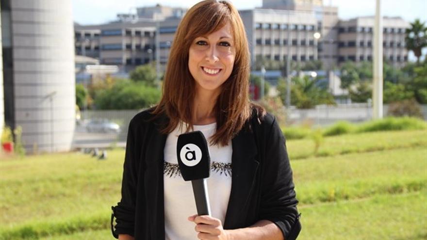 La periodista Jèssica Crespo