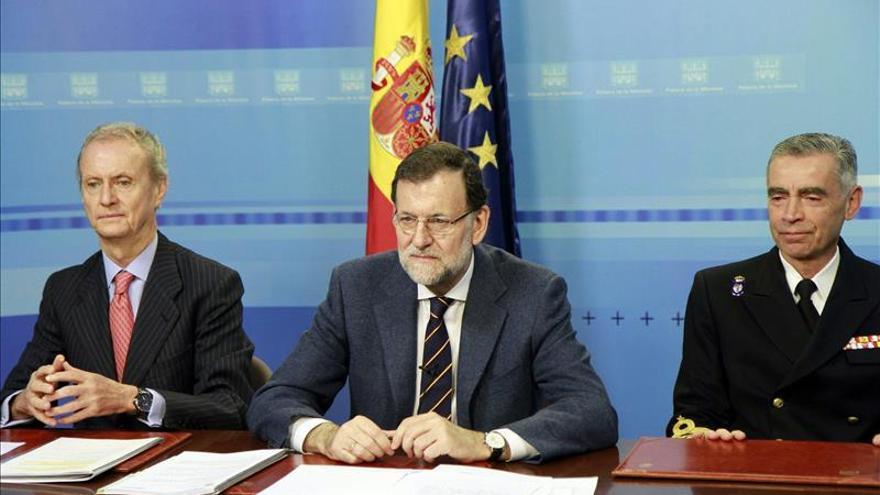 Rajoy: Las tropas en el exterior me hacen sentir el proyecto común que es España
