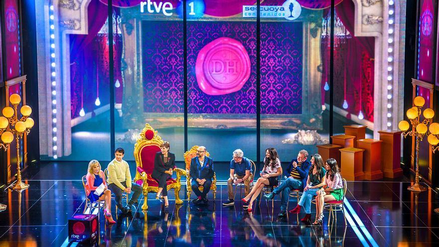 Presentación de Dicho y hecho  en TVE