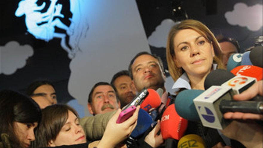 Secretaria general del PP, María Dolores de Cospedal