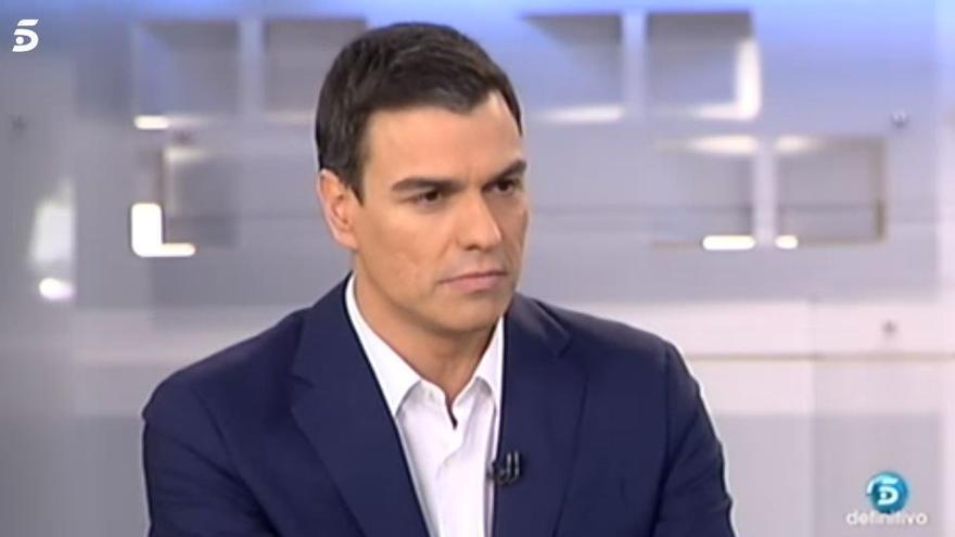 Pedro Sánchez, en 2015