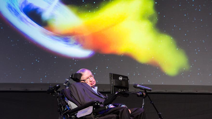 Stephen Hawking en el III Starmus Tenerife