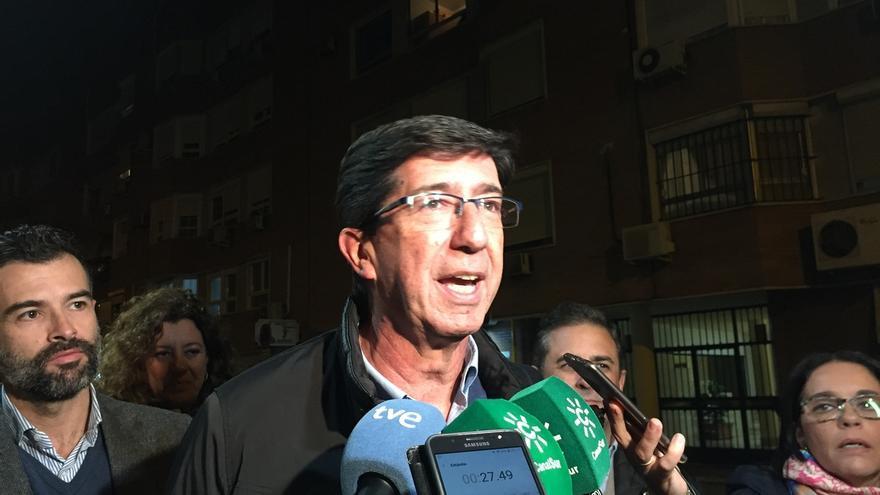 """Marín (Cs) se muestra """"optimista"""" y confía en que el resultado """"sea muy superior al que nos dan de momento"""""""