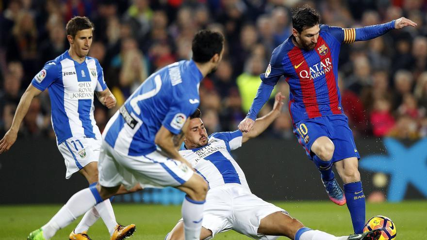 Leo Messi volvió a ver portería en Liga.