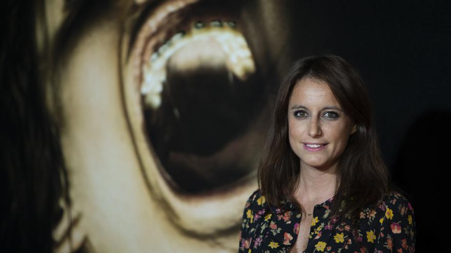Andrea Levy, del Partido Popular, durante la 'premiere' de la película 'Verónica' en 2017