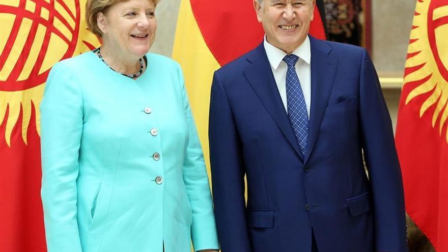 El presidente kirguiz, hospitalizado en Turquía por un problema cardiaco