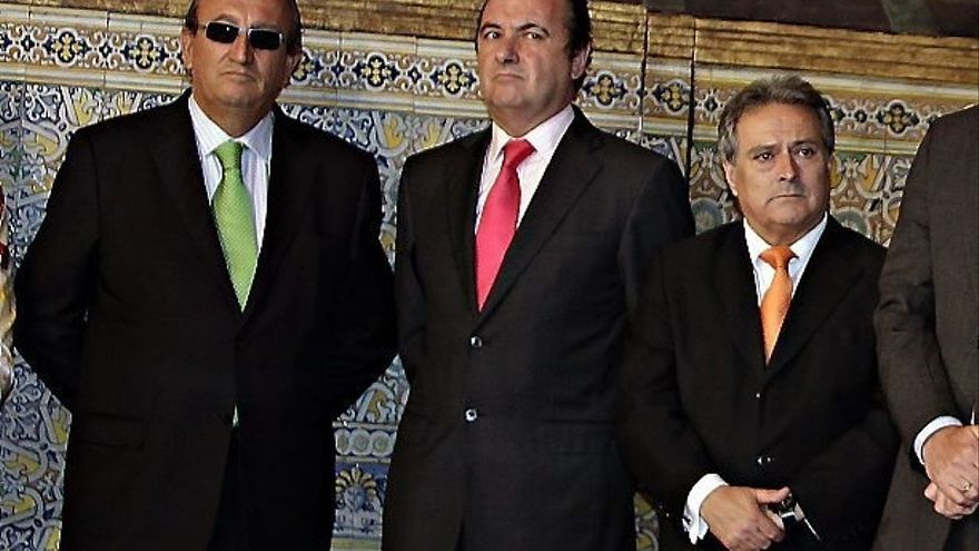 Carlos Fabra, José Joaquín Ripoll y Alfonso Rus