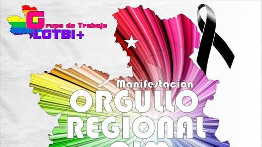 Cartel de la manifestación del Orgullo Regional CLM 2015