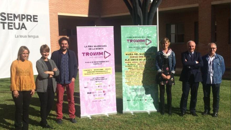 Presentación de la Feria Valenciana Trovam! en Castellón