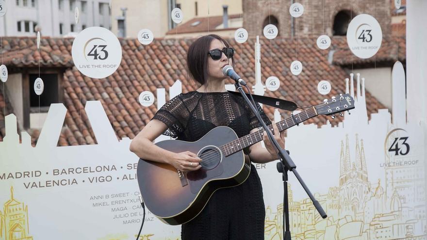 Anni B Sweet ofrecerá un concierto acústico este sábado en San Sebastián