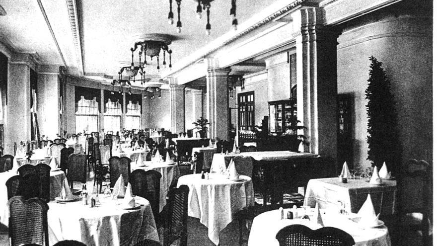 Interior del hotel Florida