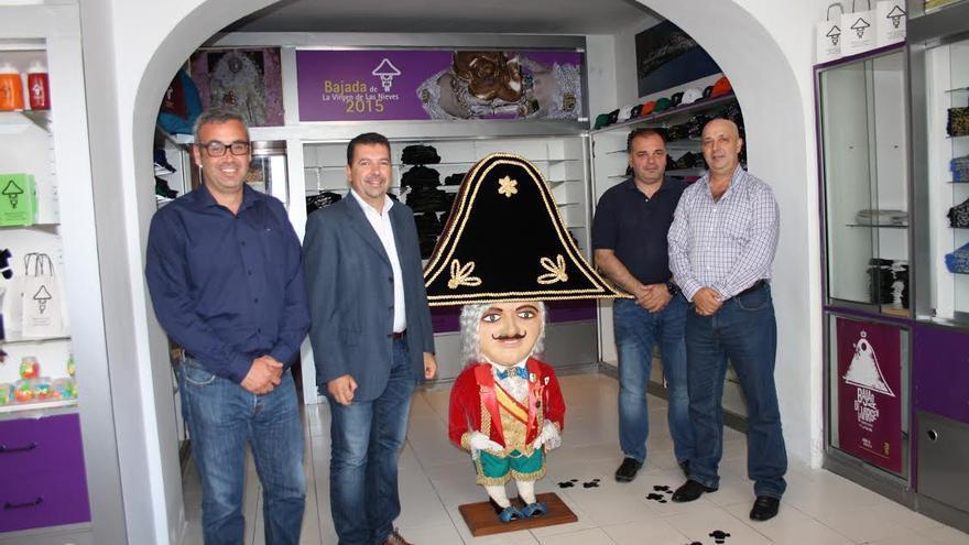 De izquierda a derecha: Sergio Matos, Juan José Cabrera, Jesús Morera y Juan Ramón Felipe.