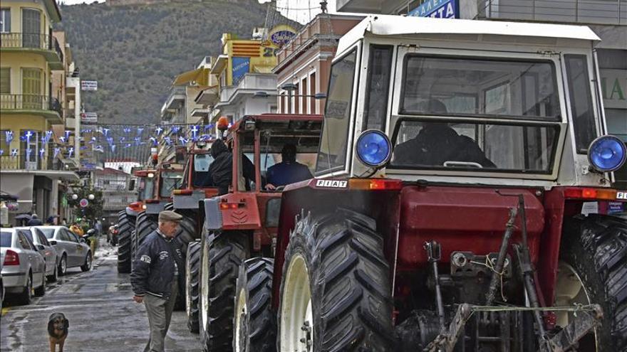 Agricultores de toda Grecia ocuparán durante dos días el centro de Atenas