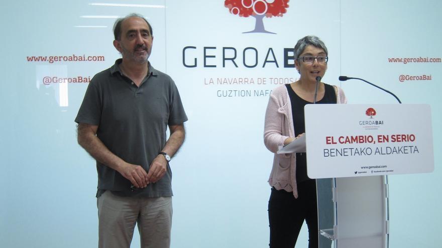 """Geroa Bai diseña una campaña """"austera"""" en la que trasladará un mensaje de """"cambio sensato e integrador"""""""