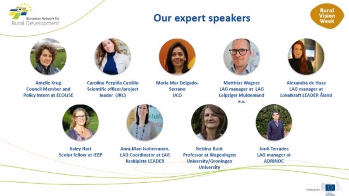 Imagen del cartel del encuentro, en el que participan expertos de distintos países de la UE