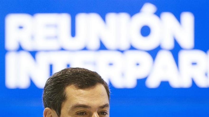 """Moreno recrimina a Díaz su """"promoción personal"""" y olvidarse de Andalucía"""