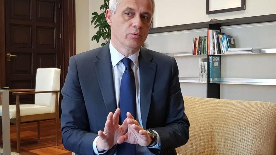 El secretario general de Agenda Urbana y Vivienda, David Lucas, en una anterior entrevista