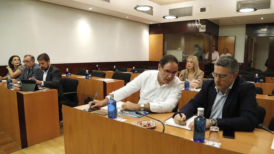 Primera sesión de la Comisión No Permanente para un Pacto contra la Despoblación en Castill-La Mancha