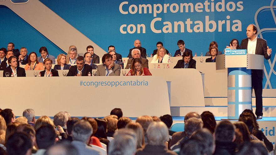 El Congreso Regional del PP de Cantabria se celebra este sábado.