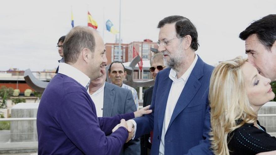 Del acto del PP canario con Rajoy #7