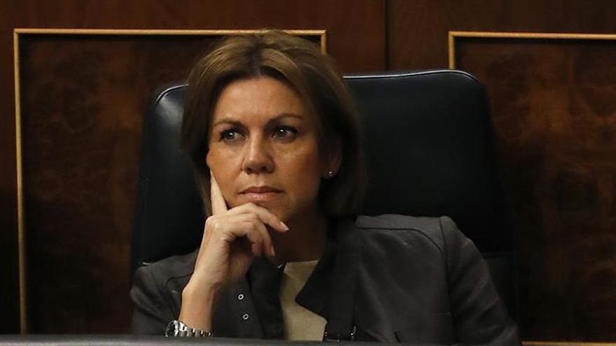 Cospedal anuncia intención abrir diálogo sobre cuartel Loiola de S.Sebastián