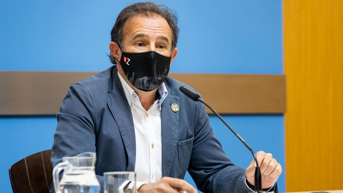 El consejero de Acción Social y Familia del Ayuntamiento, Ángel Lorén.