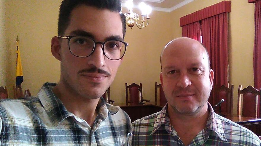 Javier Gil y Carlos Álamo, concejales no adscritos de Agaete