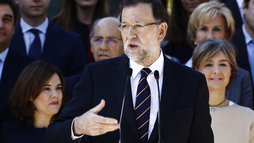 Rajoy pide unidad a los partidos para ser eficaces contra el terrorismo y da un mensaje de tranquilidad a la ciudadanía