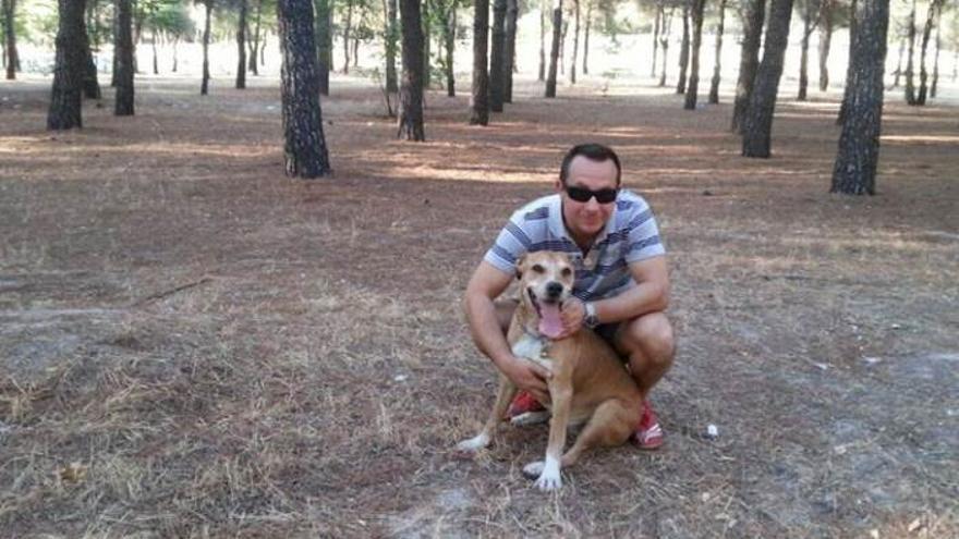 Excálibur, el perro de la enfermera infectada de ébola