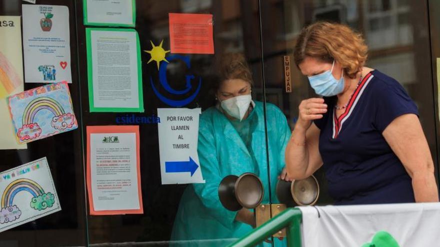 Diecinueve contagiados por coronavirus en una residencia de ancianos de Gijón