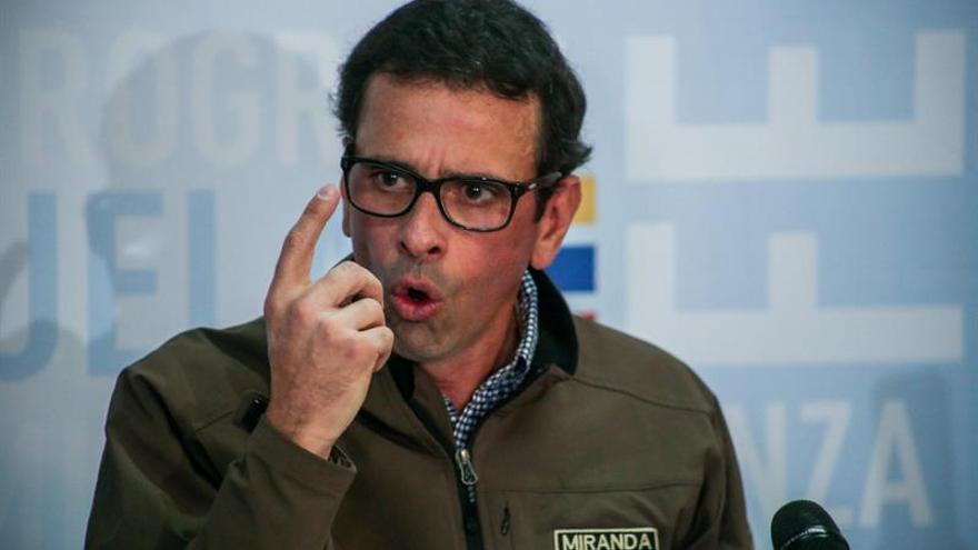 Capriles espera que 11 millones de venezolanos participen en el referéndum