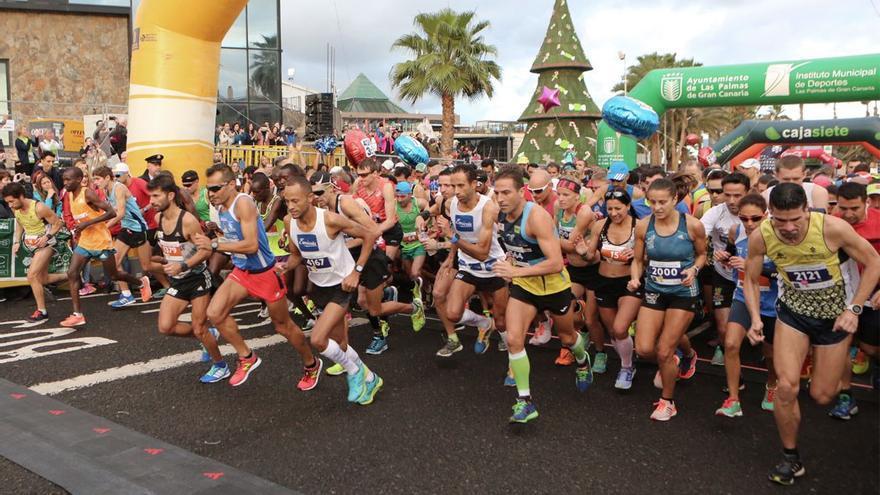 Participantes de la Gran Canaria Maratón 2017.