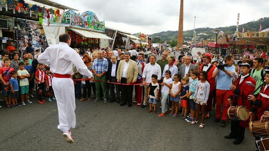 Las actividades de Aste Nagusia bilbaína han tenido una media de asistencia de unas 143.000 personas al día