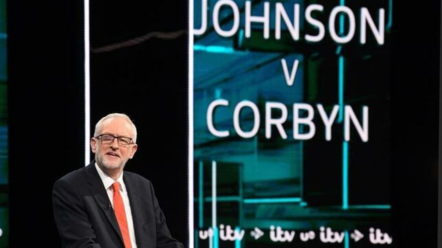 Jeremy Corbyn, debate televisivo