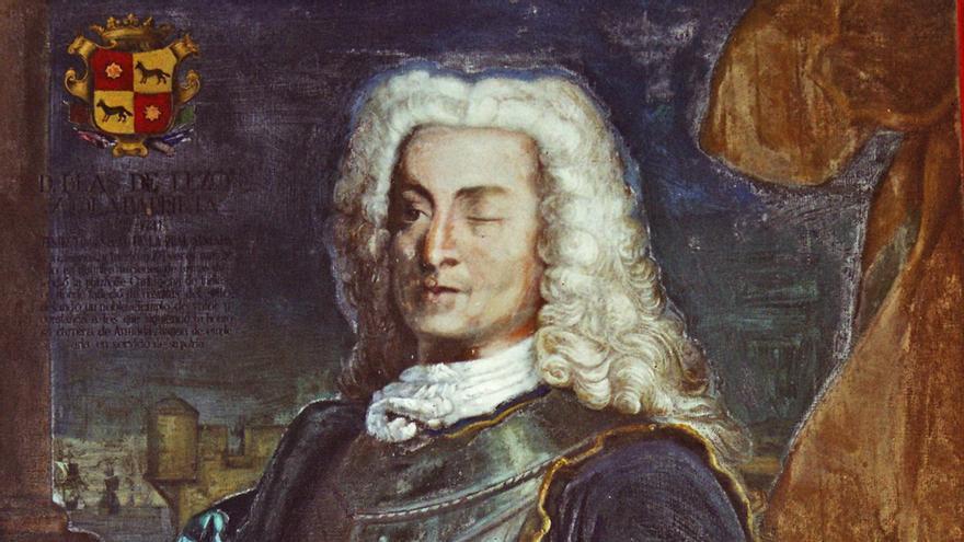 El almirante Blas de Lezo, en el Museo Naval de Madrid