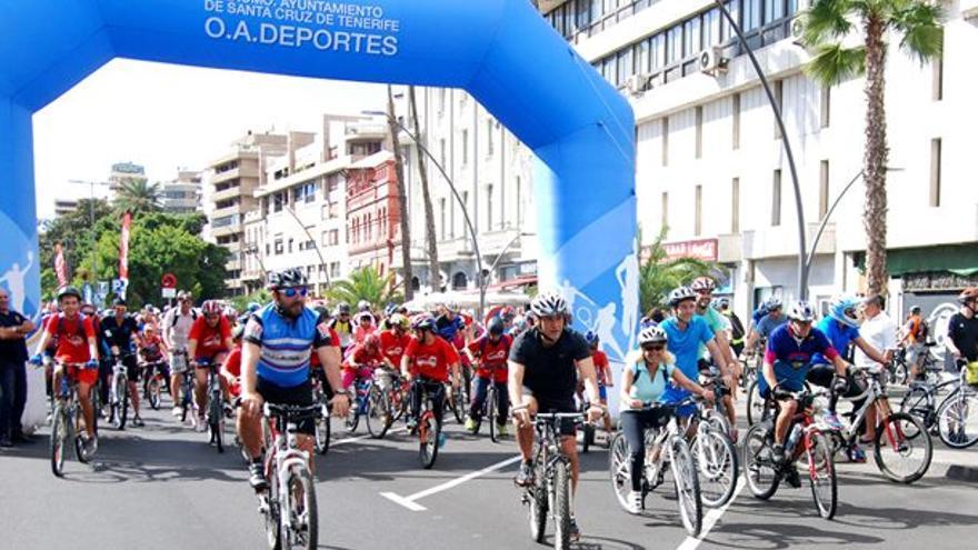Imagen de archivo de una celebración en Santa Cruz de la Fiesta de la Bicicleta
