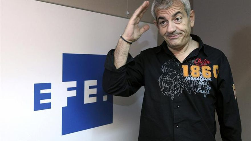 """Carlos Sobera se ríe de la televisión en el teatro con """"5 y... ¡Acción!"""""""
