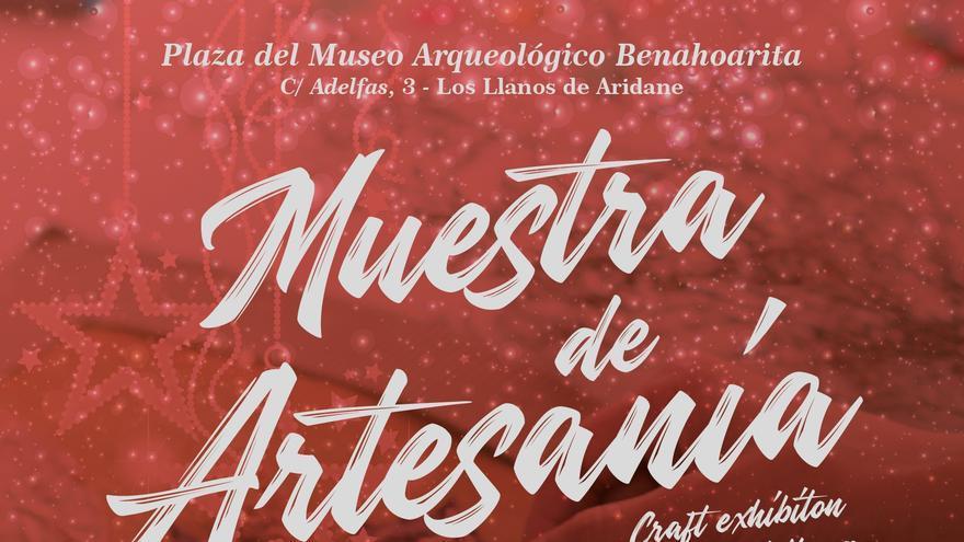 Carte de la Muestra de Artesanía.