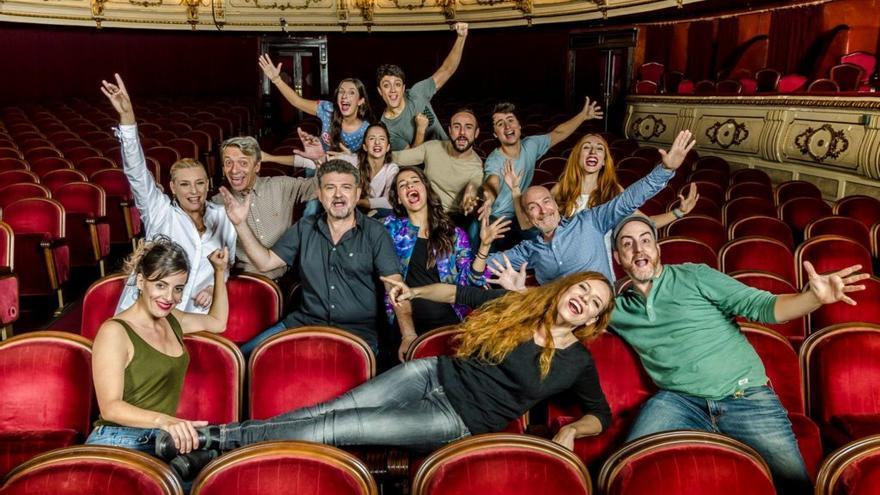 L'equip de Tic Tac Teatre