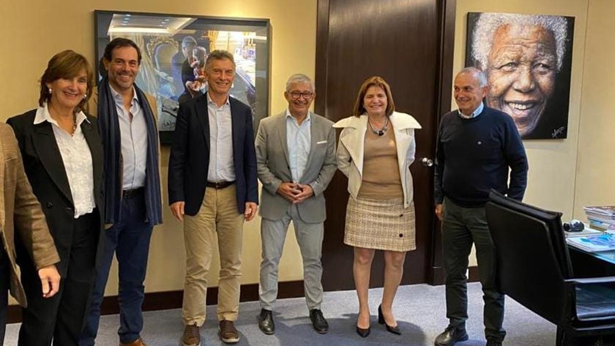 Macri y Bullrich, junto a la tropa PRO de Salta