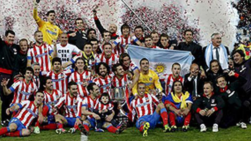 El Atlético salda sus deudas con el Madrid