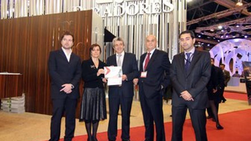 Premio al stand de Paradores de Turismo
