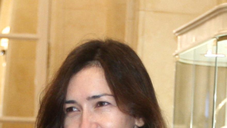 La ministra de Cultura Ángeles González-Sinde