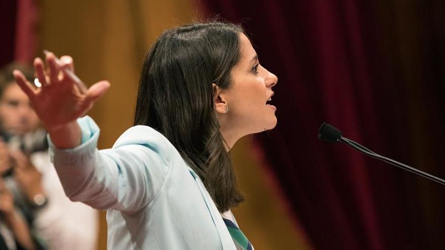 Arrimadas carga contra el PP por no apoyar la moción a Puigdemont