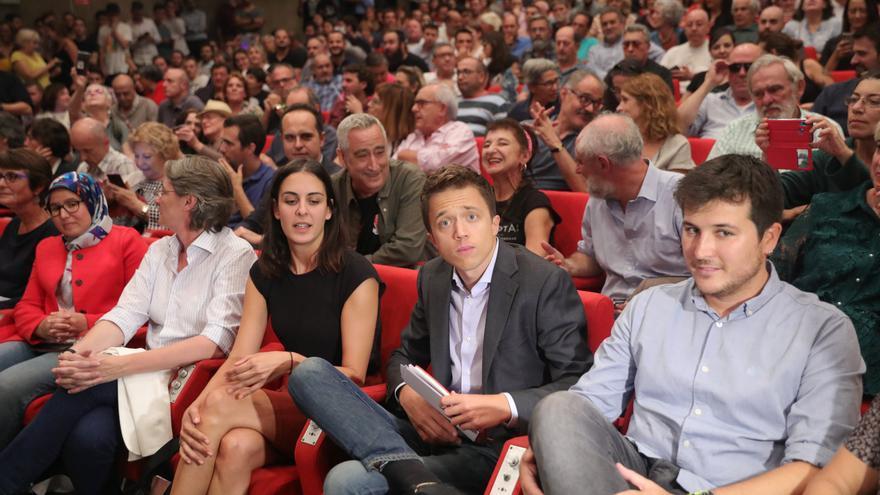 Íñigo Errejón durante la presentación de su candidatura a las elecciones del 10N.