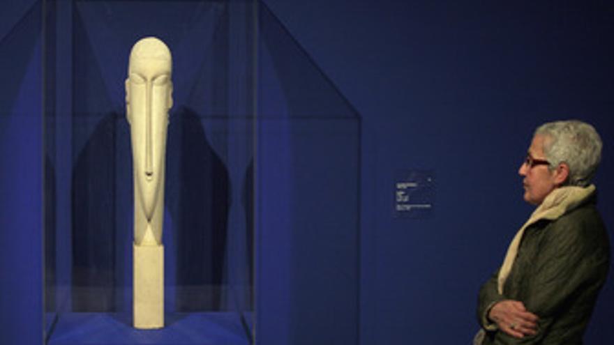 Tête de Modigliani