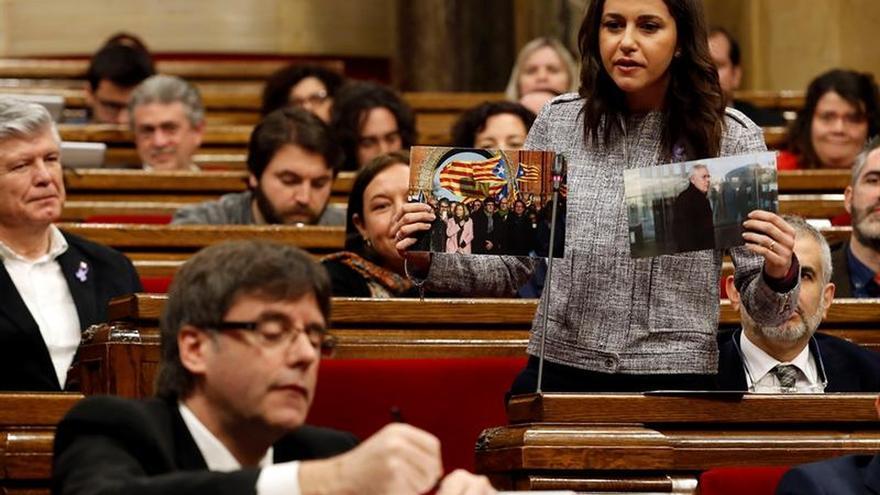 Cs pide las comparecencias de Mas y Puigdemont en el Parlament por el caso Palau